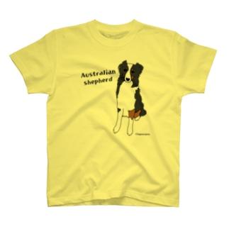 オーストラリアンシェパード T-shirts