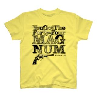 YouGotTheForty-FourMAGNUMNicoRock T-shirts