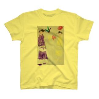 ママとわたしの羽子板対決 T-shirts