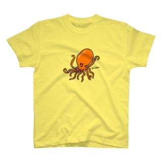 おタコさん T-shirts