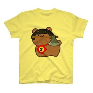 まさかりくわえた金太郎 T-shirts