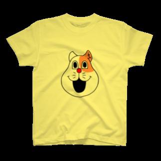 伏井しんぺいのネコやん(顔だけver.) T-shirts