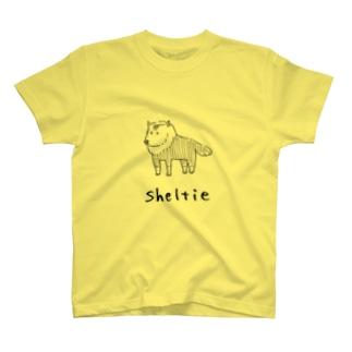 シェルティ T-shirts