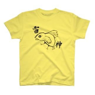 鳥(雷神) T-shirts
