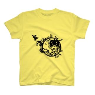 ニコボ(ぽんかん)のはろおうぃんさん T-shirts