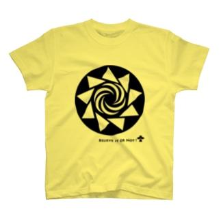 ミステリーサークル08(ブラックver) T-shirts