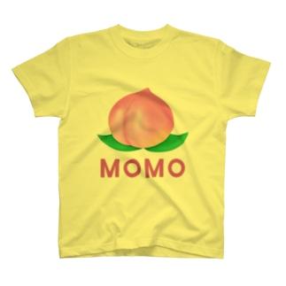 桃のTシャツ・パーカー・マグカップ可愛いグッズ T-shirts