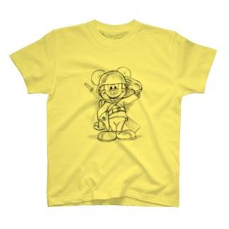 キャラミリ 戦地へ T-shirts