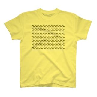 garaロゴ柄 T-shirts