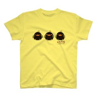 ごきげん!くろぴっぴ T-shirts