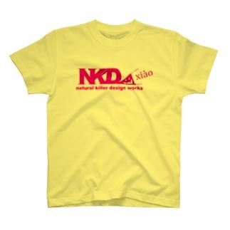 スリスリNKDW(桃) T-shirts