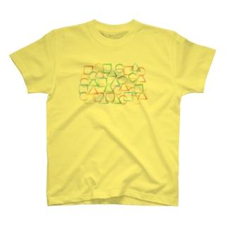 ○△□カラフル T-shirts