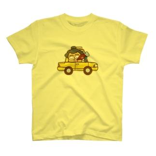 ササニシキくんのタクシー T-shirts