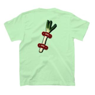 【バックプリント】 ネギホルダー T-Shirt