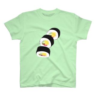 フォーリング太巻 T-shirts