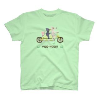 サイクリングヤッホー! T-shirts