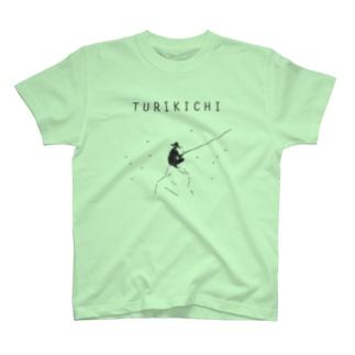 釣り人専用デザイングッズ「ツリキチ」 T-shirts