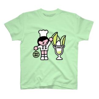 メロンパフェ職人 T-shirts