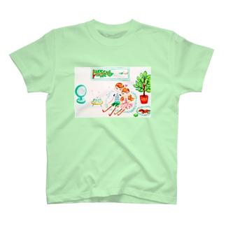 ハッピー♡タイム(B)🧡ⅭoⅭo&TaTa T-shirts