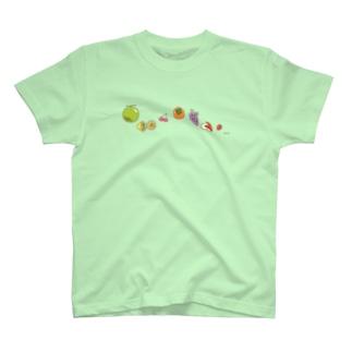 くだもの-ぞろぞろ T-Shirt