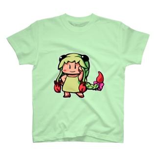 イエローグリーンのさそりさん(蠍座) T-shirts