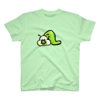 あおあおアオムシくん T-shirts
