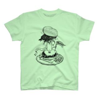 YUMMY!ねずみバーガー T-shirts