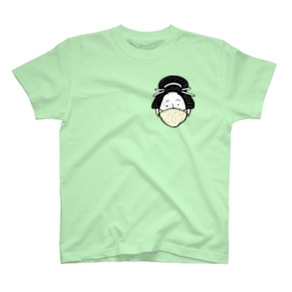 Mask Girl/濃色Tシャツ T-shirts