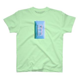 照明スイッチさわやかバグ T-shirts
