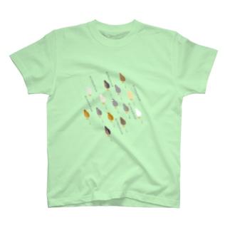 跳ぶ跳ぶヒメウズラ いろんなこ T-shirts
