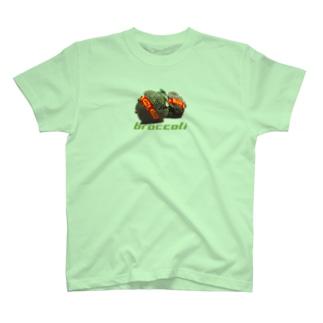ブロッコリー(お買得品) T-shirts