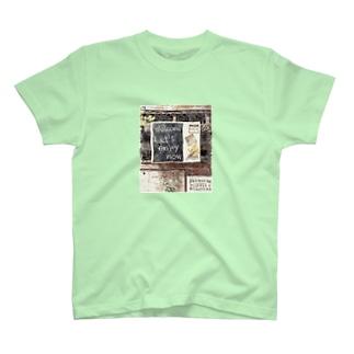 黒板ウエルカムボード T-shirts