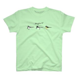 セキレイさんぽ T-shirts