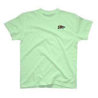 ワンポイントのとらさん T-shirts