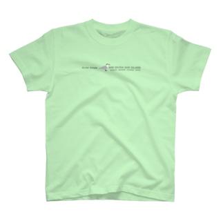 しまのなかまSLOW エリグロアジサシ T-shirts