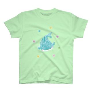 きらきら海のジンベイザメさん T-shirts