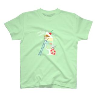 クリームソーダサマー T-shirts