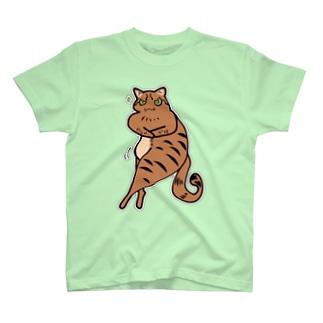ぷりものサイドチェスト T-shirts
