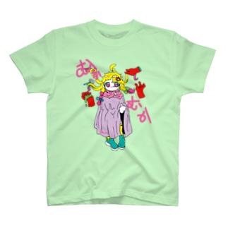ムカ美ちゃん T-shirts