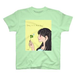 今日はいい日だ♪ T-shirts