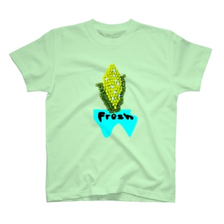 BuhiBuhiBooのフレッシュコーン T-shirts