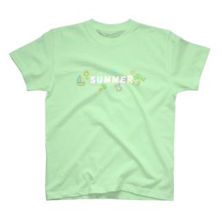 夏のポップなアイテム T-shirts