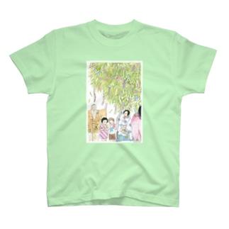 関寺小町のたなばたまつり T-shirts