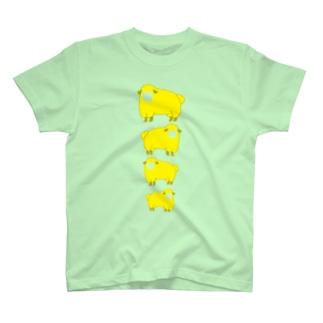 羊 黄 T-Shirt