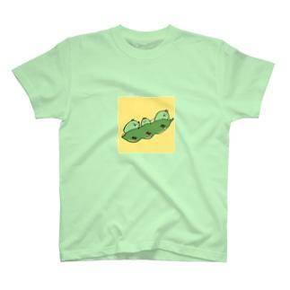 飛び出せ枝豆 T-shirts