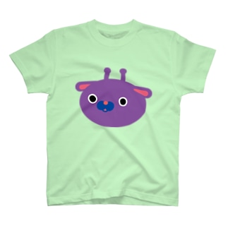 sabi29のまるいきりん(大きめ) T-shirts