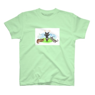 あずきちゃんたち❤ T-shirts