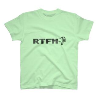 「RTFM」Tシャツ T-shirts