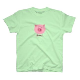 BUHi(ブヒ) T-shirts