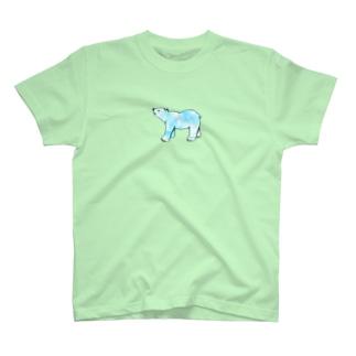 上向きでいこうアニマル クマ T-shirts